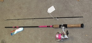 Lady Lazer Rod & Reel Combo