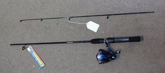 Lazer Blue Series Rod & Reel Combo