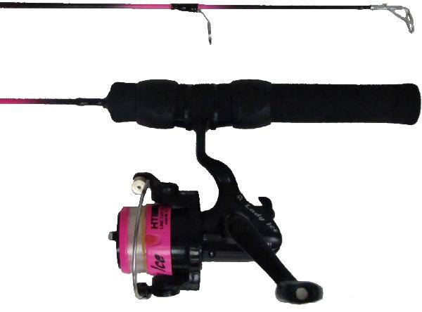 HT Lady Ice  Fishing rod & reel combos