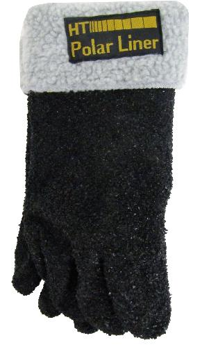 Black Alaskan Polar Gloves