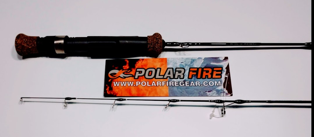 HT Polar Fire Select SX Ice Rod Combos have custom tapered Caronite blank for ultimate performance. Special designed crushed cork/rubber handle with cushioned stainless real seat. Polar Fire Six Bearing reel with sub-zero lubricant. The reels have Infinite Anit-Reverse.