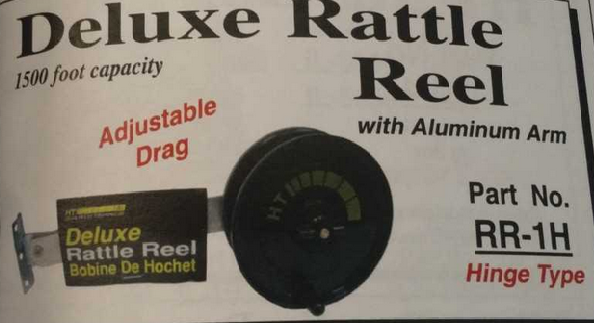 Deluxe Rattel Reel With Hinge