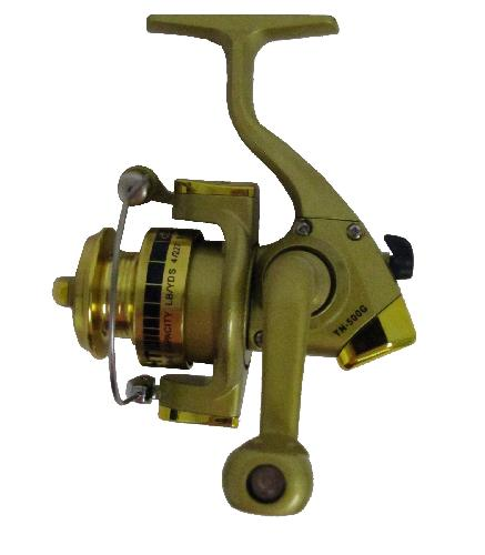 Micros Tundra Spinning reel is a special zinc drive gear, machined pinion gear, automatic bail trip, an ultimate reel for ultra light and micro action rods for summer or winter fishing. 4 ball bearing, gear ratio 5:2:1. Only 4.8 ounces.